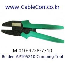 BELDEN 1694ABHD3 BNC 압착 툴 세트, BELDEN 1694A BNC Crimp Tool Set