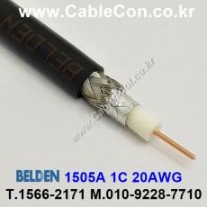 BELDEN 1505A 010(Black) RG-59/U 벨덴 30M