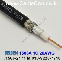 BELDEN 1506A 010(Black) RG-59 벨덴 3M