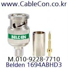 BELDEN 1694ABHD3 BNC 커넥터 벨덴, BELDEN 1694A 압착식 BNC Plug