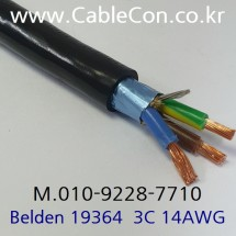 벨덴 Mains Power Cable, BELDEN 19364 3미터