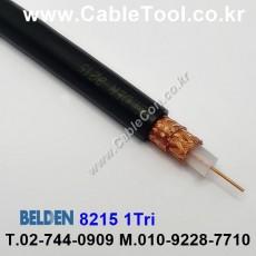 BELDEN 8215 010(Black) RG-6A/U 벨덴 300M