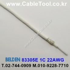 BELDEN 83305E 009(White) 벨덴 300M