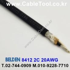 BELDEN 8412 010(Black) 벨덴 300M