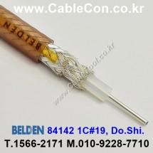 BELDEN 84142 001(Brown) M17/60 RG142 벨덴 3M