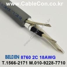 BELDEN 8760 060(Chrome) 1Pair 18AWG 벨덴 150M